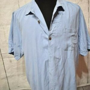 Tommy Bahama Men's Periwinkle Button front Shirt